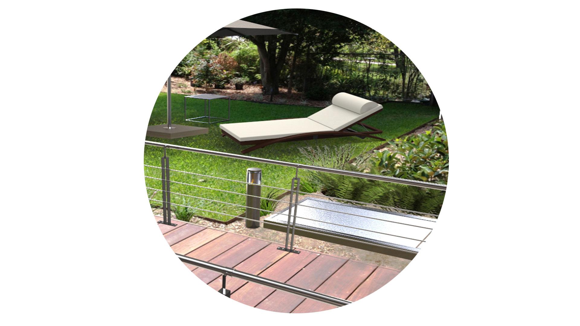 Jardin Ambiente Bola Möven Design