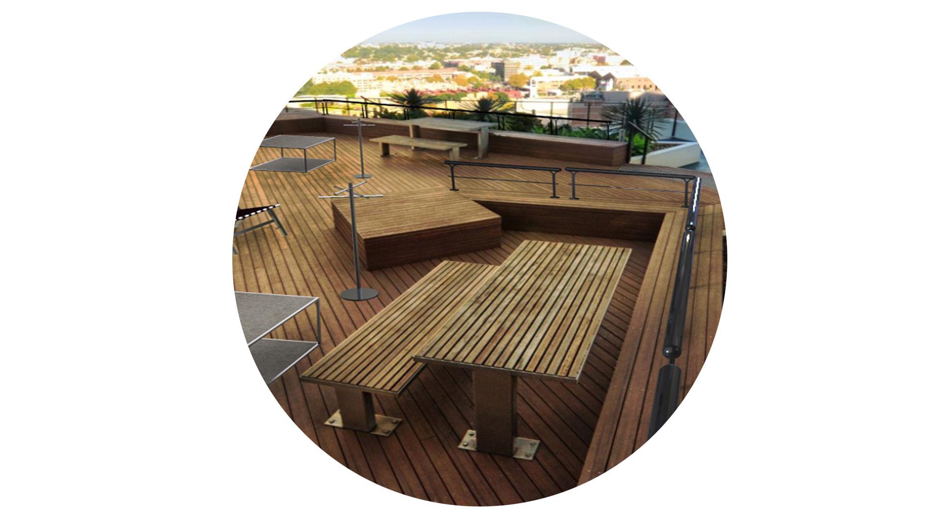 Roof Garden Ambiente Bola Möven Design
